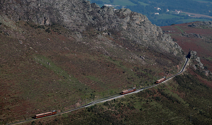 Pays Basque : 90 ans petit train de la rhune Col de Saint-Ignace Pays Basque