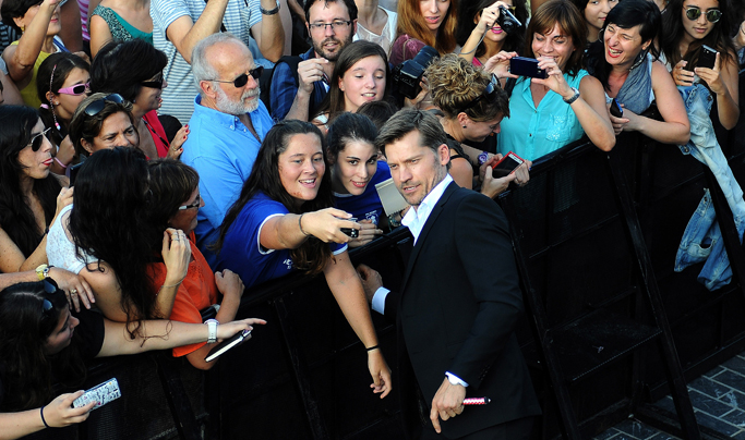 Nikolaj Coster-Waldau Game of Thrones Festival du film de Saint Sebastien Donostia