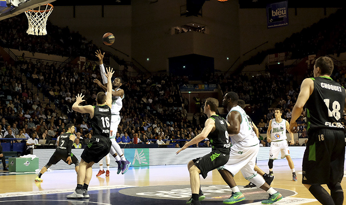 Sport Basket-ball PRO A ELAN BEARNAIS ASVEL BASKET 58-87