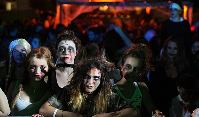 Biarritz Halloween Pays Basque jardin public biarritz evenement