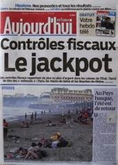 Le Parisien - Aujourd'hui en France