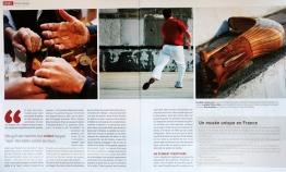 """Pays Basque Magazine """"Une petite balle qui chante"""""""