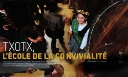 Pays Basque magazine : Txotx l'école de la convivialité