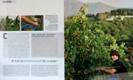 """Pays Basque Magazine """"Egiategia un vin bercé par la mer """""""