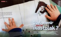 """Pays Basque Magazine """"Quel avenir pour les Ikastolak"""""""