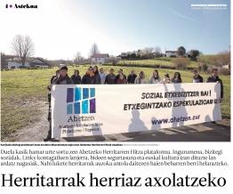 Journal basque BERRIA du 28 Juillet 2017 / Ipar Euskal Herri
