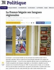 """Le Monde """"Euskara"""""""
