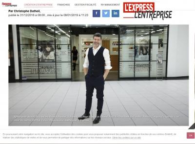 L'Express L'entreprise : Serial entrepreneur, Patrick Longevial s'est adossé à l'enseigne Franck Provost pour monter plu