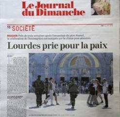 Le JDD/ Le Journal Du Dimanche 14 Aout 2016