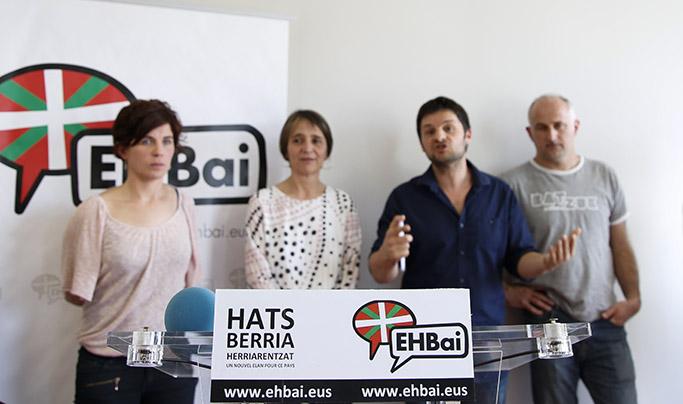Politique : Législatives 2017 EH Bai présente ses candidat-e-s