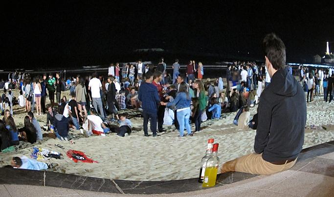 pays basque nuit alcool grande plage biarritz jeunes ados. Black Bedroom Furniture Sets. Home Design Ideas