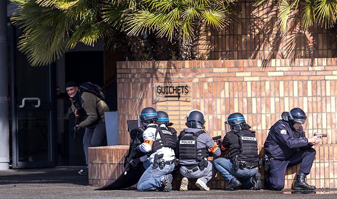 Société : Simulation d'attaque terroriste au Zénith de Pau