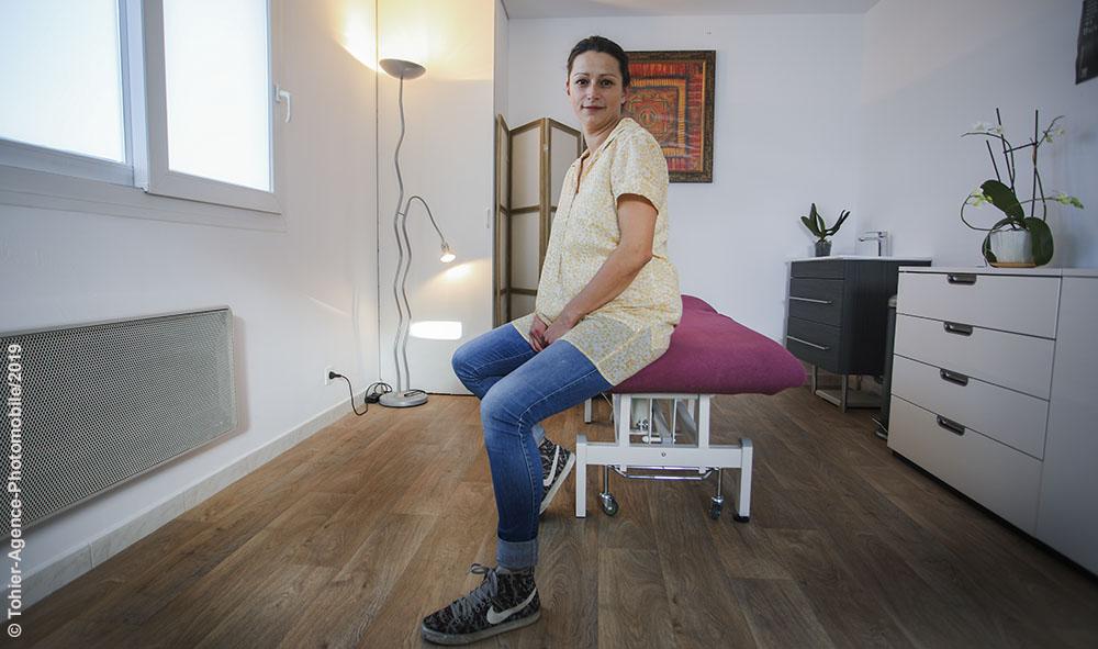 Ahetze: Santé, Caroline Leiva de la Motte, ostéopathe au Pays Basque, une histoire de mécanique corporelle avec une approche globale, pleine de bon sens et collaborative.