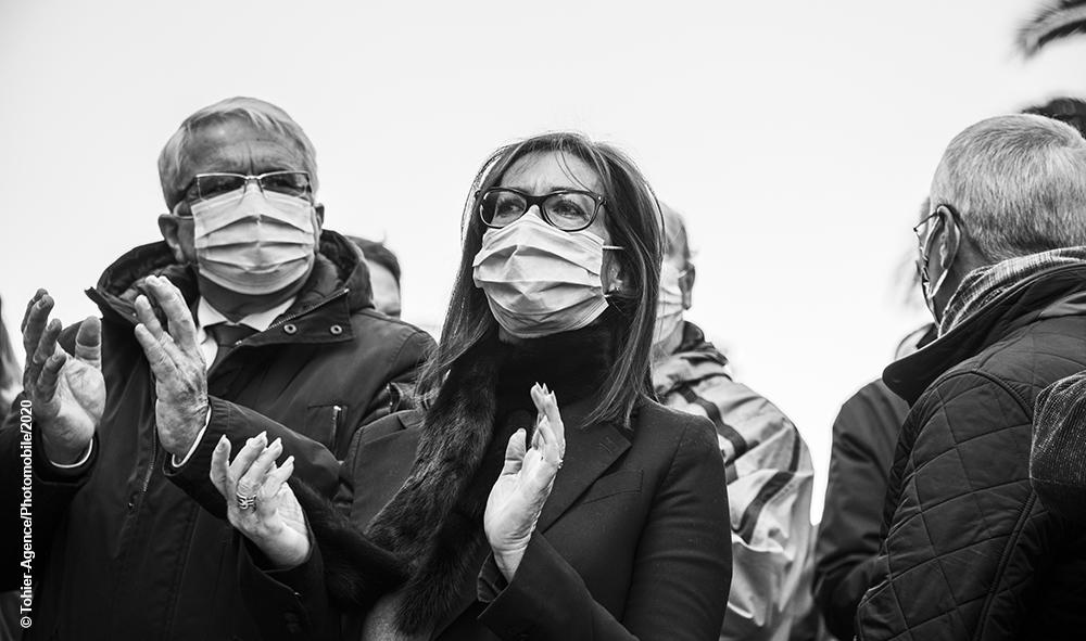Économie & Coronavirus : Nouvelles manifestations des commerçants au Pays basque dans plusieurs villes, avec le soutien de leurs élu(e)s.
