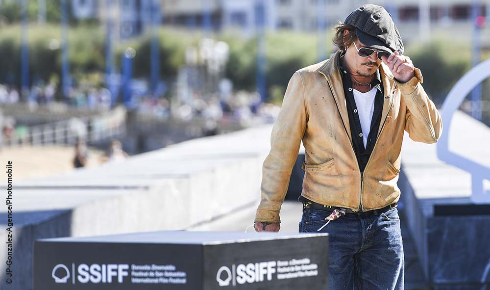 Culture : Cinéma « Zinemaldia » Donostia, Julien Temple, Johnny Depp et Stephen Deuters au Festival international du film de San Sebastián/Gipuzkoa