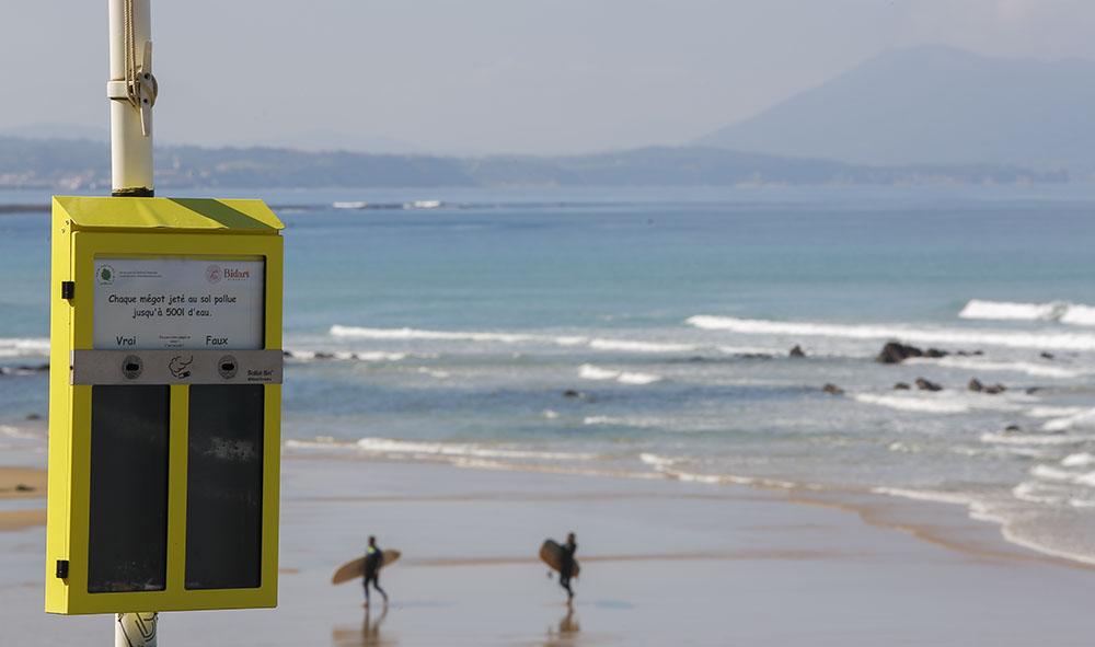 ENVIRONNEMENT : L'association de Laurent DonseTREE6CLOPE Toujours en action sur le Pays Basque et ailleurs aussi ...
