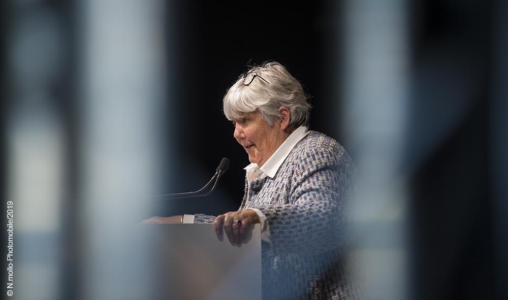 Jacqueline Gourault, Ministre de la Cohésion des territoires et des Relations avec les collectivités territoriales lors du 35eme congrès de l'ANEM.