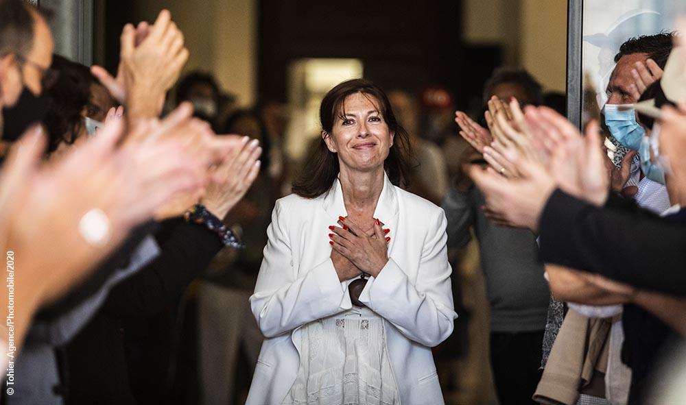 Maider Arosteguy élections municipales de Biarritz première femme Maire de l'histoire de la cité balnéaire.