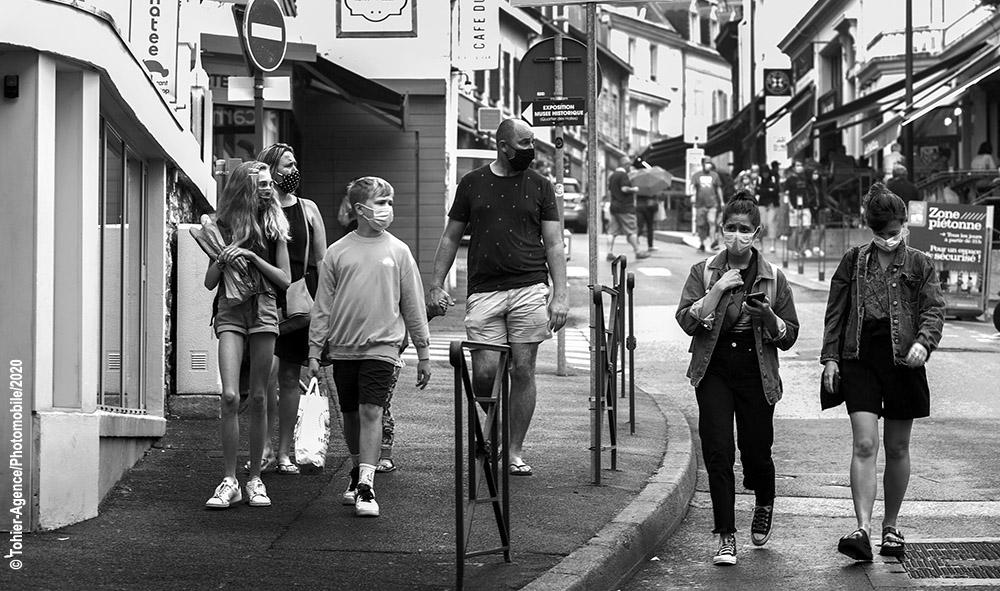Pays basque, le port du masque désormais obligatoire dans le centre-ville de Biarritz et de Bayonne