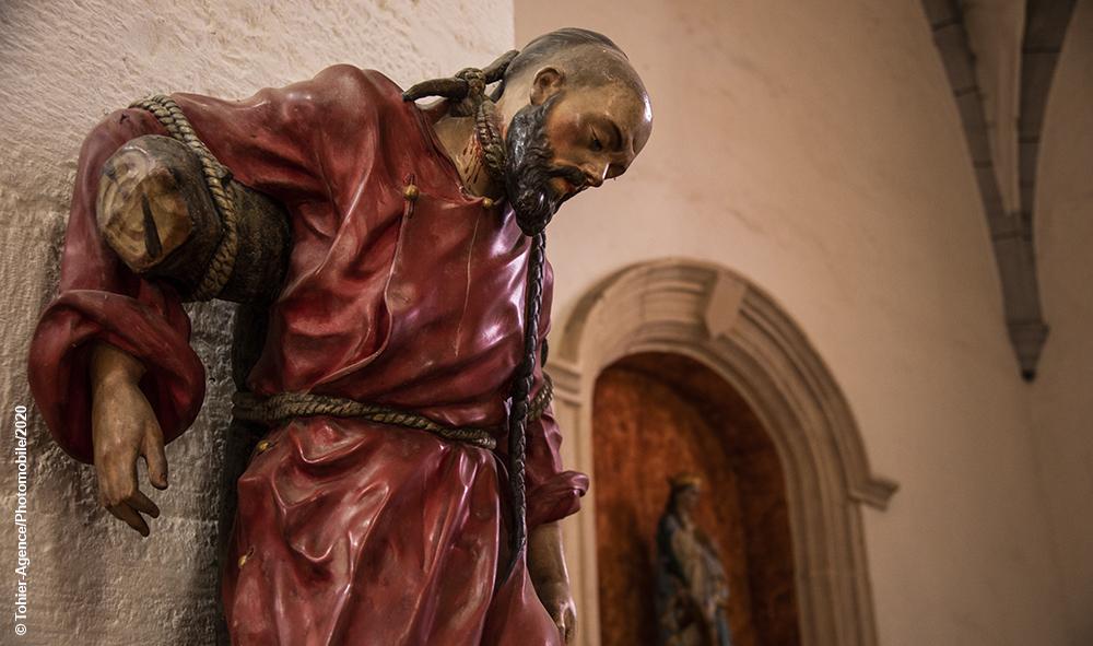 Religion :A Wuhan, les chrétiens invoquent Saint Jean-Gabriel Perboyre un saint originaire du LOT, martyrisé par strangulation sur une croix, à Wuhan, point de départ du virus.