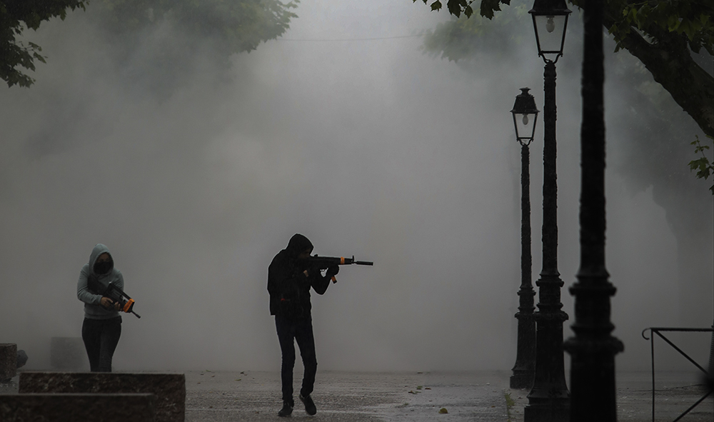 Sécurité : Simulation d'attaque terroriste à Espelette au Pays Basque.