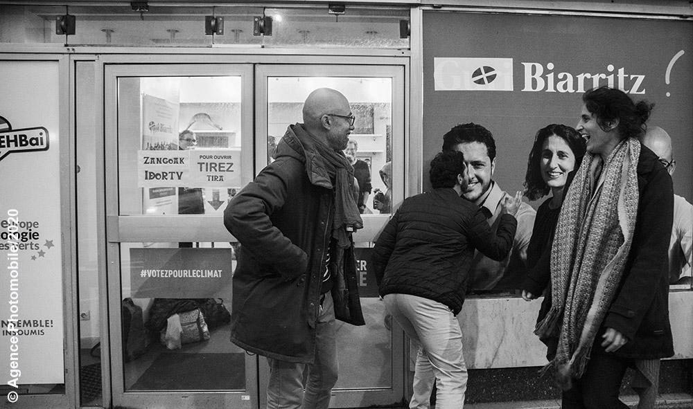 Série « Permanence » Lysiann Brao, Brice Morin et Mathieu Accoh Elections municipales et communautaires de Biarritz