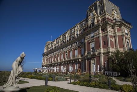 L'Hôtel du Palais de Biarritz le 9 octobre 2018.  Biarritz, Pays Basque, Region Nouvelle-Aquitaine, Pyrenees-Atlantiques France, Europe.