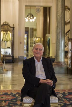 Michel Veunac le Maire de la ville de Biarritz dans l'hôtel du Palais de la ville de Biarritz le 10 octobre 2018.  Biarritz, Pays Basque, Nouvelle Aquitaine, Pyrenees Atlantiques, Sud Ouest, France, Europe.