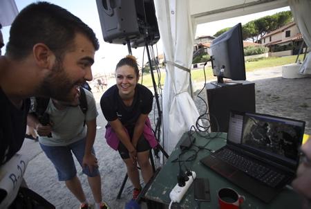 Cani-Triathlon 2019 le dimanche 15 septembre  à Vieux-Boucau-les-Bains dans les Landes (40) un evenement organise par la clinique veterinaire Zatozte de Bidart dans le Pays Basque en association avec lasantedemonchien.fr. 4e edition de son triathlon canin (cani triathlon) associant cani-paddle (ou cani-canoe), cani-VTT (ou cani-trottinette ou cani-roller) et cani-cross.  Cani-Triathlon 2019 Sunday, September 15 in Vieux-Boucau-les-Bains in the Landes (40) an event organized by the veterinary clinic Zatozte Bidart in the Basque Country in association with the site lasantedemonchien.fr . 4th edition of his canine triathlon (cani triathlon) associating cani-paddle (or cani-canoe), cani-VTT (or cani-scooter or cani-roller) and cani-cross.  Vieux-Boucau-Les-Bain, Landes, 40 , Nouvelle Aquitaine, News Aquitaine, Pyrénées Atlantiques, Sud Ouest, France, Europe.